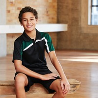 BIZ COLLECTION Kids Velocity Polo