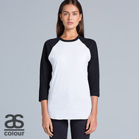 AS COLOUR Womens Raglan Tee