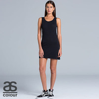 AS COLOUR Womens Emily Singlet Dress