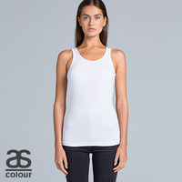 AS COLOUR Womens Even Rib Singlet