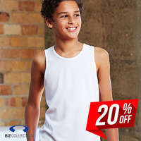 BIZ COLLECTION Kids Sprint Singlet