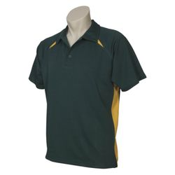 BIZ COLLECTION Mens Splice Polo Thumbnail