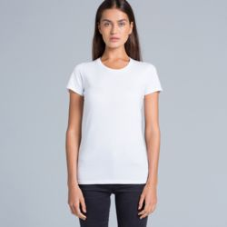 AS COLOUR Womens Wafer Tee Thumbnail