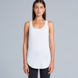 Womens Dash Racer Back Singlet Thumbnail