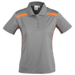 BIZ COLLECTION Womens United Polo Thumbnail