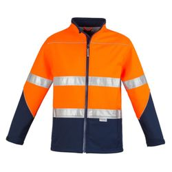 Unisex Hi Vis Soft Shell Jacket Thumbnail
