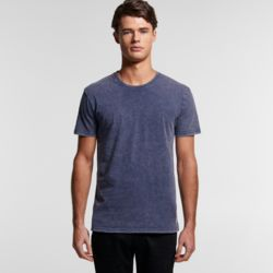 AS COLOUR Mens Stone Wash Staple Tee Thumbnail