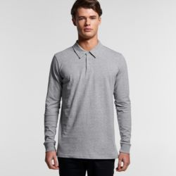 AS COLOUR Mens Chad L/S Polo Thumbnail