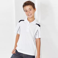 BIZ COLLECTION Kids United Polo Thumbnail