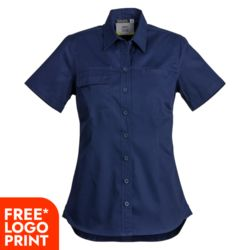 SYZMIK Womens Lightwight Tradie Shirt Thumbnail