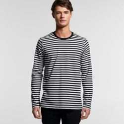 AS COLOUR Mens Match Stripe L/S Tee Thumbnail