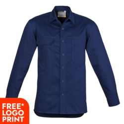 Mens Lightweight Tradie L/S  Shirt  Thumbnail