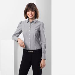 BIZ COLLECTION Women Euro Long Sleeve Shirt Thumbnail