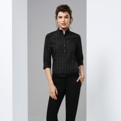 BIZ COLLECTION Women Harper 3/4 Sleeve Shirt Thumbnail