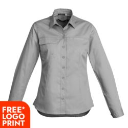 Womens Lightweight Tradie L/S Shirt Thumbnail