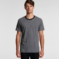 AS COLOUR Mens Line Stripe Tee Thumbnail