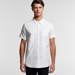 AS COLOUR Mens Oxford S/S Shirt Thumbnail