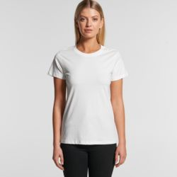 AS COLOUR Womens Maple Organic Tee Thumbnail