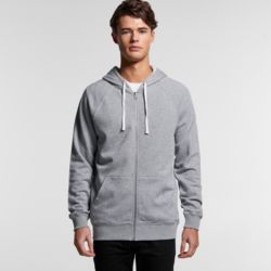 AS COLOUR Mens Premium Zip Hood Thumbnail