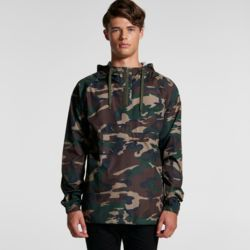 AS COLOUR Mens Cyrus Camo Windbreaker Thumbnail