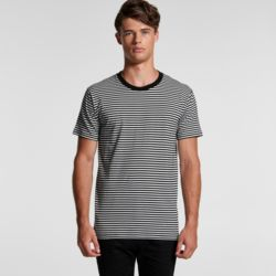 AS COLOUR  Mens Bowery Stripe Tee Thumbnail