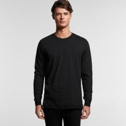AS COLOUR Mens Base Organic L/S Tee Thumbnail