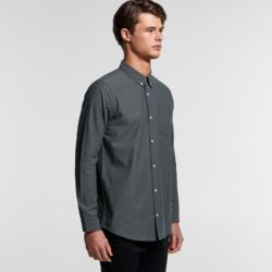 AS COLOUR Mens Chambray Shirt  Thumbnail