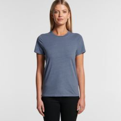 AS COLOUR Womens  Faded Tee Thumbnail