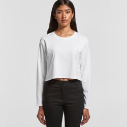 Womens Crop Long Sleeve Tee  Thumbnail